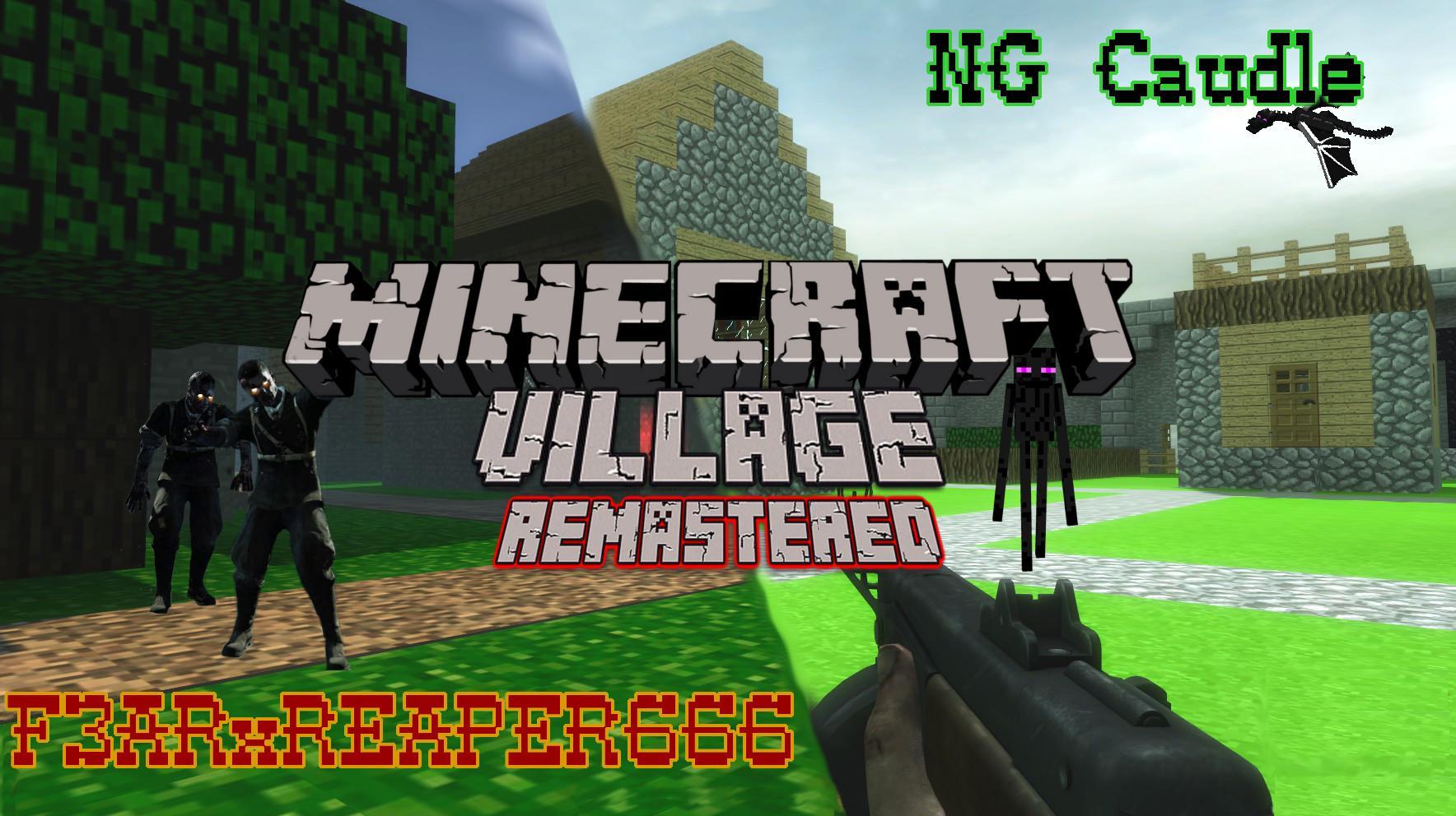 minecraft village remastered | ZombieModding